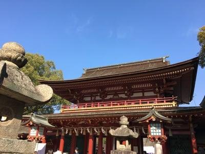 福岡県太宰府天満宮の山門