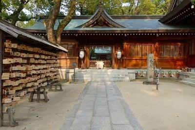 四條畷神社の本殿