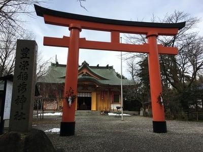 富山県豊栄稲荷神社の鳥居