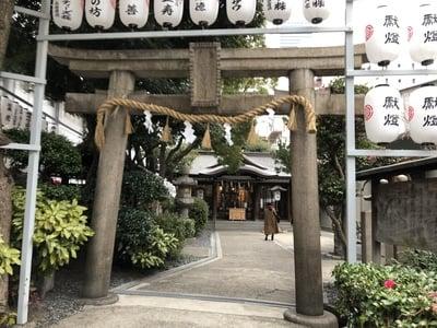 大阪府サムハラ神社の鳥居