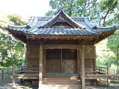 東京都旧稲生神社の本殿