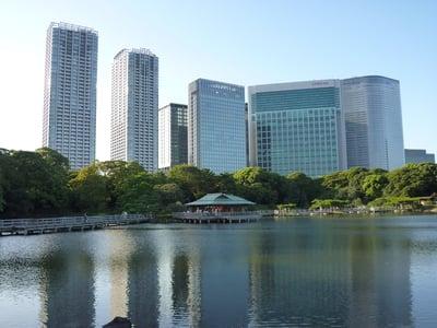 東京都旧稲生神社の周辺