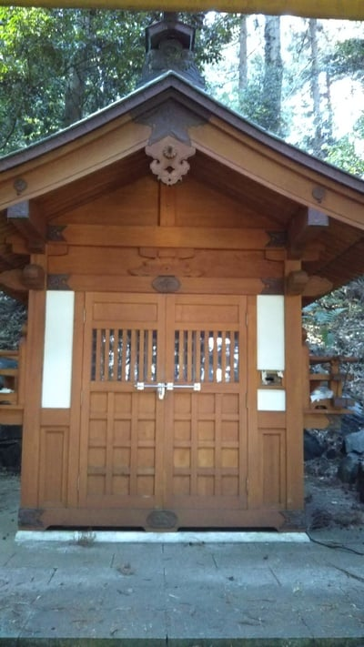 茨城県手接足尾神社の写真
