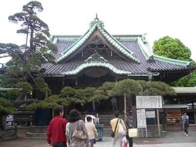 東京都題経寺(柴又帝釈天)の本殿
