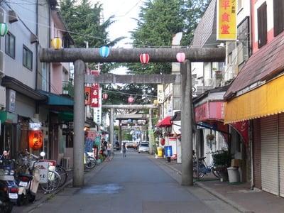 岩手県櫻山神社の鳥居