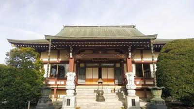 埼玉県松林寺の本殿