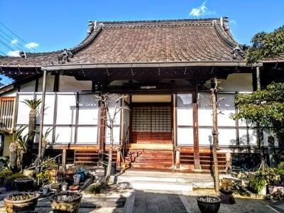 愛知県顕智山 妙法寺の本殿