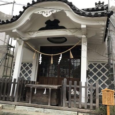 大阪府高津宮の本殿