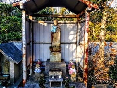 天根山 長泉寺の地蔵