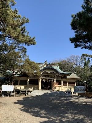 伊文神社の本殿