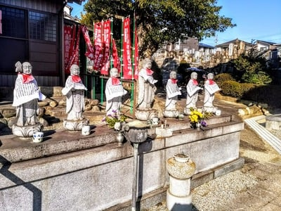 雲龍山 運得寺の地蔵