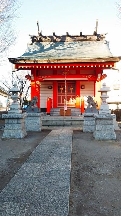 東京都高野胡録神社の本殿