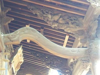芳川神社の芸術
