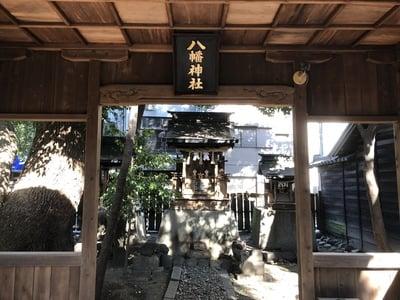 岐阜県八幡神社の本殿