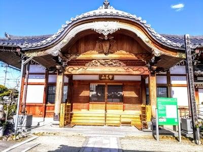 愛知県智光山 西方寺の本殿