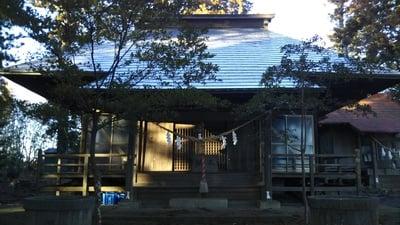 茨城県天白羽神社の本殿