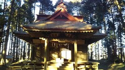 茨城県鹿島神社の本殿