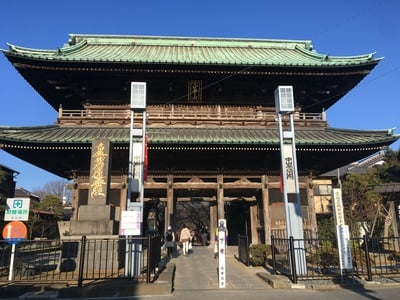 法華経寺の山門