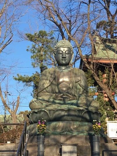 法華経寺の仏像