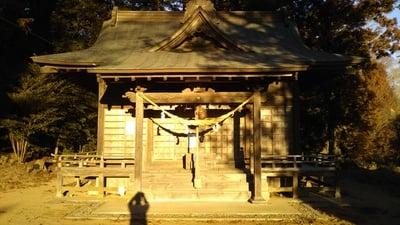 鹿嶋日吉神社の本殿