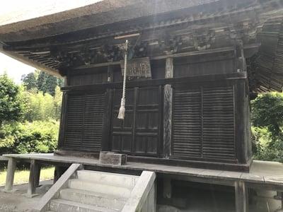 千葉県鳳来寺観音堂の写真