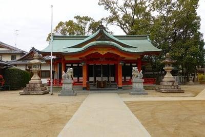 亀之森住吉神社の本殿