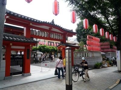 善國寺(東京都牛込神楽坂駅) - 山門・神門の写真