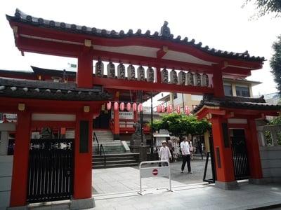 東京都善國寺の山門