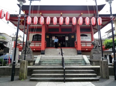 善國寺(東京都牛込神楽坂駅) - 本殿・本堂の写真