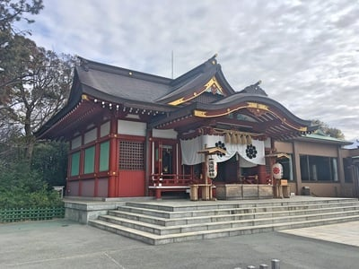 千葉県稲毛浅間神社の本殿