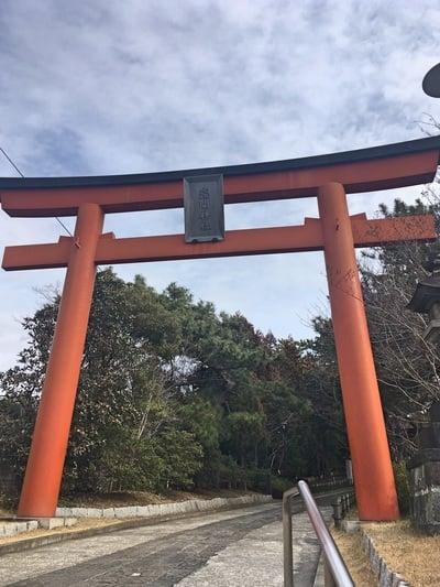 千葉県稲毛浅間神社の鳥居