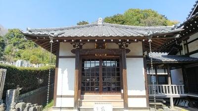 埼玉県佛眼寺の本殿