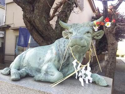 北野神社の狛犬