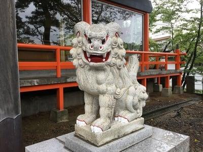 山形県三宝荒神社の写真