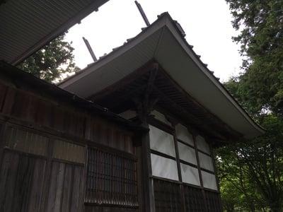 永江神社の本殿
