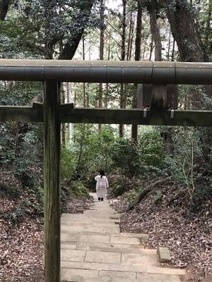 事任八幡宮(静岡県菊川駅) - 鳥居の写真