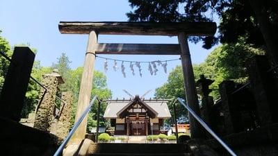 埼玉県神明神社の鳥居