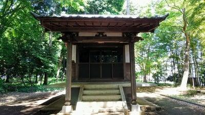 埼玉県神明神社の本殿