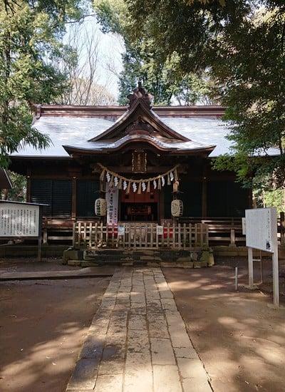 氷川女体神社の本殿