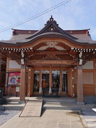 埼玉県第六天神社の本殿