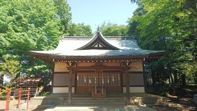埼玉県安松神社の本殿