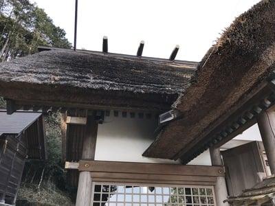 千葉県高家神社の本殿