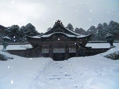 鳥取県大神山神社奥宮の本殿