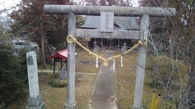 諏訪神社(茨城県常陸太田駅) - 鳥居の写真