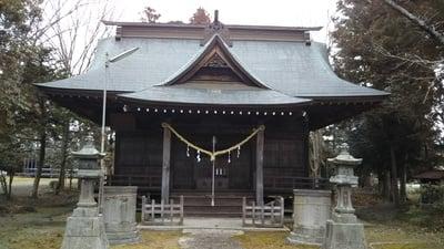 諏訪神社(茨城県常陸太田駅) - 本殿・本堂の写真