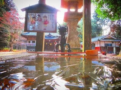 岡山県獅子山八幡宮の写真