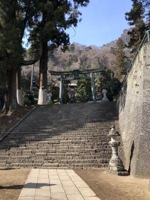 群馬県妙義神社の鳥居