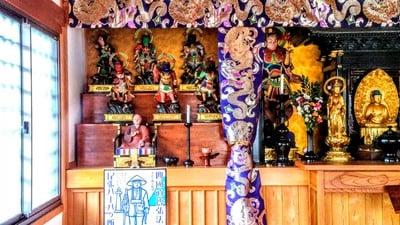玉応山 龍雲院(愛知県太田川駅) - 仏像の写真