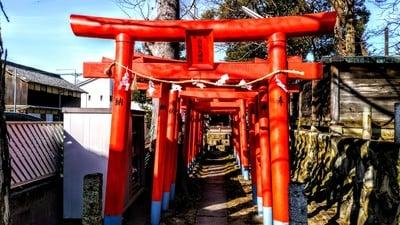 愛知県神明生田神社の鳥居
