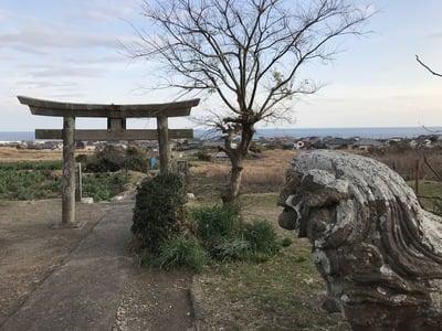 千葉県高皇産靈神社の鳥居